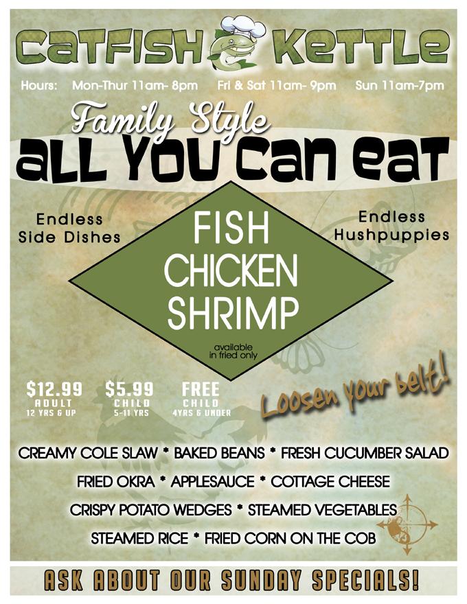 Catfish final menu